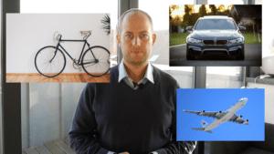 Is je gamer een fiets, auto of vliegtuig